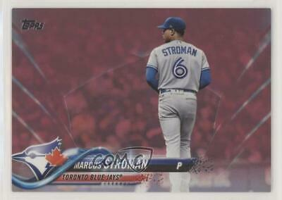 2018 Topps Mothers Day Pink50 392 Marcus Stroman Toronto Blue Jays Card