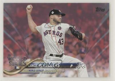2018 Topps Mothers Day Pink50 212 Lance McCullers Houston Astros Card