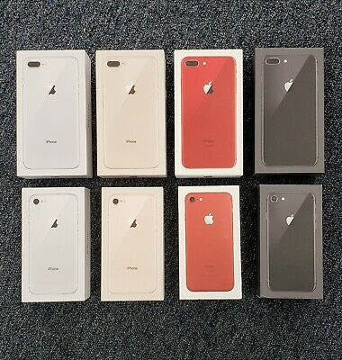 iPhone 8 8- Plus Box Original Apple Retail Box Only Without Accessories No Phone
