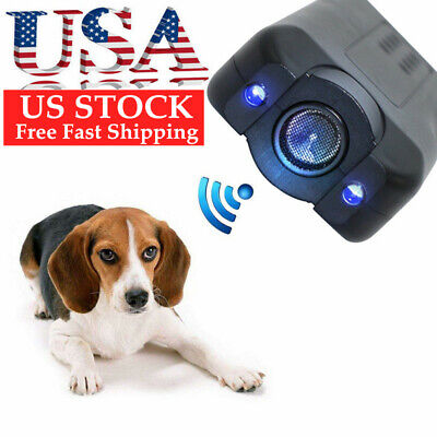 Petgentle Stoppe Ultrasonic Anti-Barking Pet Dog Trainer LED Light Gentle-Chaser