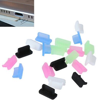 10pcs Rubber usb type-c dust plug charger port anti-dust cover HF GHIJ