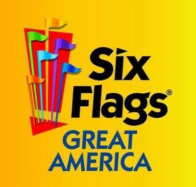 SPECIAL PRICE SIX FLAGS GREAT AMERICA Child Youth Ticket Chicago Gurnee IL