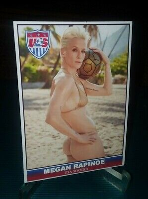 MEGAN RAPINOE 2019 USA Womens Soccer Custom Card World Cup Champions NEW