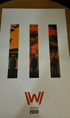 Westworld Poster Comic-Con 2019 SDCC