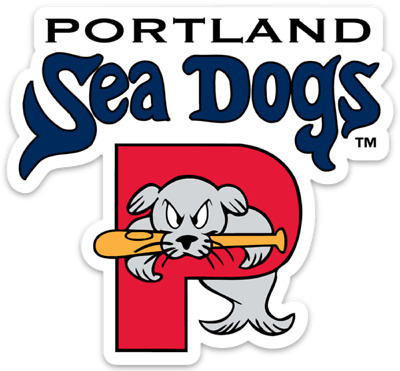 Portland Sea Dogs 4 Inch AA Red Sox MiLB Die-Cut Decal  Sticker Free Shipping