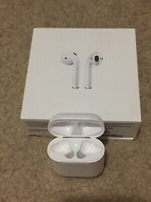 Apple AirPodsGen1 Charging Caseonly wmisc AirPods for parts - original box
