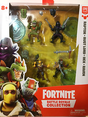 Action Figures Fortnite Battle Royale Collection 4 Squad Pack Toys  Games