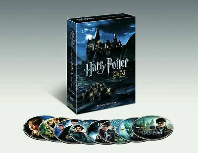 Harry Potter The Complete 8-Film Collection DVD 2011 8-Disc Set FREE SHIPPING