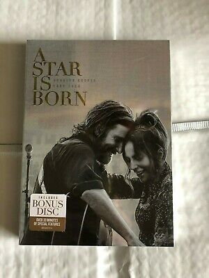 A Star Is Born DVD 2018 2-Disc Set Special Edition