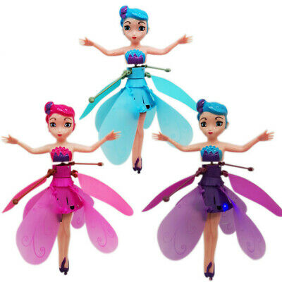 Flying Fairy Doll Induction Infrared Gift Magic Toys Game Control Princess Dolls