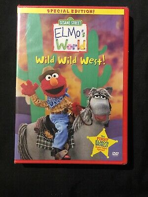 Elmos World - Wild Wild West DVD 2001 SEALED