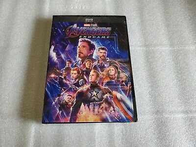 Avengers End Game DVD 2019 New - Sealed Free Shipping