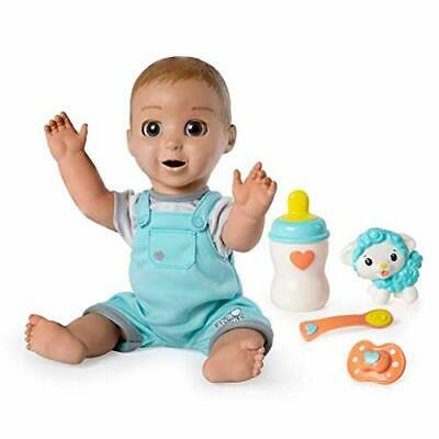 Luvabeau Blond Hair Interactive Baby Doll with Expressions - Movement Ages 3-