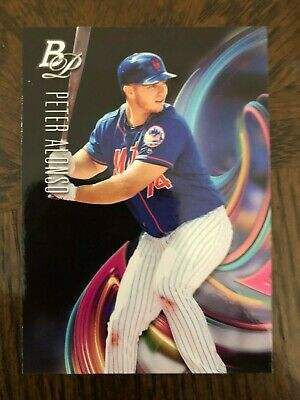 PETER ALONSO 2018 BOWMAN PLATINUM ROOKIE RC CARD TOP-15 - METS MINT