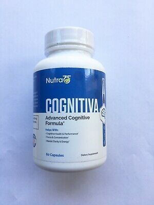 Cognitiva Advanced Cognitive formula Boost Your Brain Power FREE SHIPPING