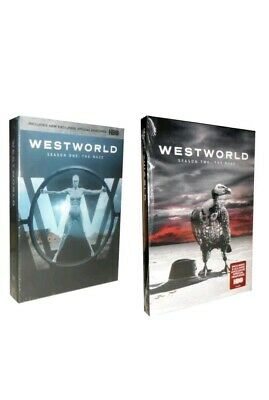 Westworld The Complete Seasons 1-2 DVD 2018