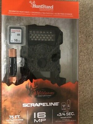 Wildgame Innovations Scrapeline Hunting Game Camera wMemory Card-16MP