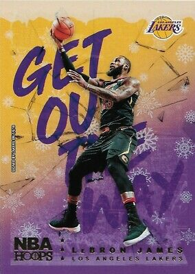 LeBron James NBA Hoops Winter 18-19 GOW-3 Get out the Way Los Angeles Lakers