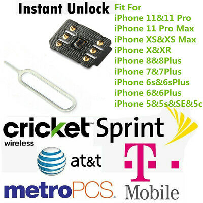 iPhone Unlock Sim Turbo Nano Card for iPhone 11 Pro Max XS 8 7 6S 6 Plus iOS 13