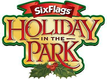 Six Flags Ticket dates include Fright Fest or Holiday In The Park