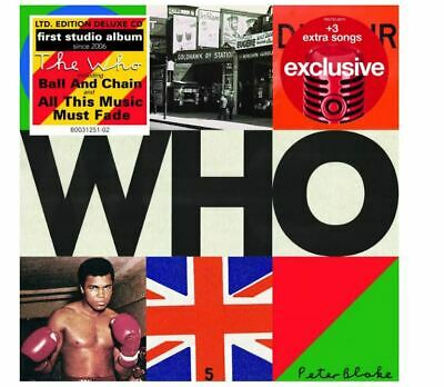 THE WHO WHO Deluxe Edition CD w 3 Bonus Tracks target