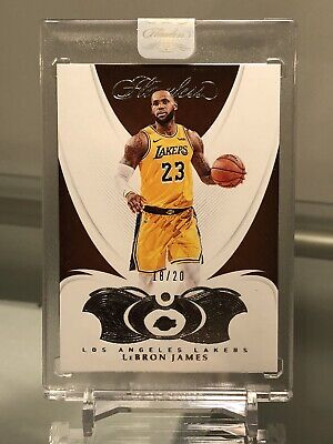 2018-19 Flawless LEBRON JAMES Base Diamond20 LAKERS JERSEY HOT CARD🔥🔥🔥🔥🔥🔥