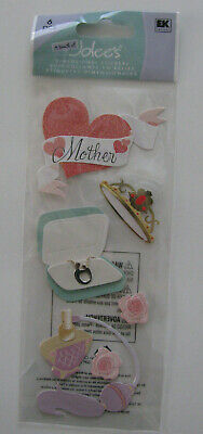 Jolees Dimensional Stickers MOTHERS DAY NIP FREE SHIPPING