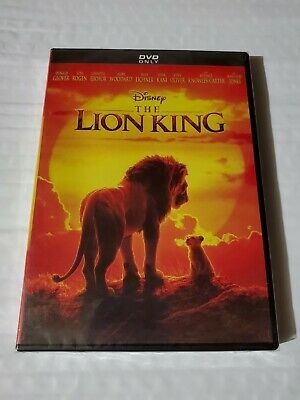 The Lion King DVD 2019 Live Action Movie Brand New Free Shipping