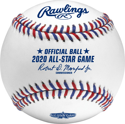 Rawlings MLB 2020 All Star Official Game Baseball Los Angeles Dodgers Boxed