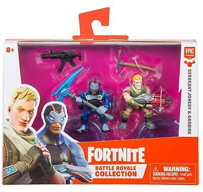 Fortnite Epic Games Battle Royale Collection Sergeant Jonesy - Carbide 2-Inch Mi