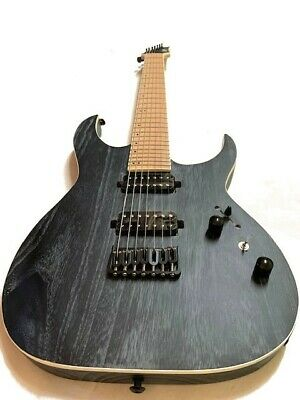 NEW 6 STRING ELECTRIC TL STYLE HUMBUCKER ELECTRIC GUITAR FLAME MAPLE TOP