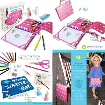 Pipity Arts And Crafts For Girls- Kits With Stationary Set - Kids Activity Book