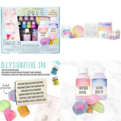Stmt Diy Signature Spa Kit By Horizon Group Usa Create 4 Personalized Perfume B
