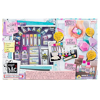 Ultimate Spa Studio Stem Science Cosmetic Kit by Horizon Group 6 Scents - More