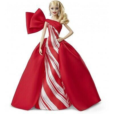 BARBIE HOLIDAY CHRISTMAS 2019 BLONDE DOLL BRAND NEW IN BOX MATTEL