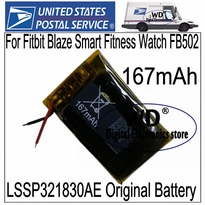 FB502 LSSP321830AE Repair Battery for Fitbit Blaze Fitness Watch 167mAh Battery