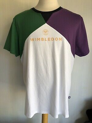 WIMBLEDON Official The Championships England Tennis Mens T-Shirt Size XL