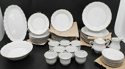 40-Piece Set of Dinner Plates Cups And Saucers By Walbrzych Made In Polland