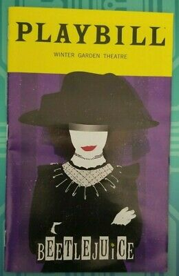 BEETLEJUICE Broadway EXCLUSIVE JANUARY Playbill ALEX BRIGHTMAN Sophia Anne Carus