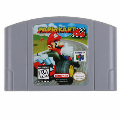 Video Game Cartridge Console Card For Nintendo N64 Mario Kart 64 US Version Gift