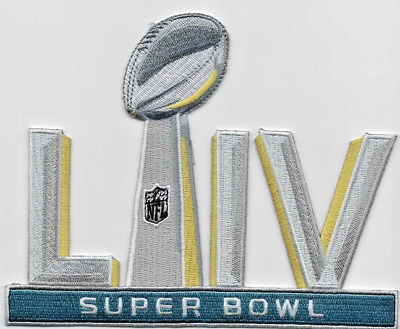 SUPER BOWL 54 LIV Patch 5 Embroidered Iron On Free Shipping