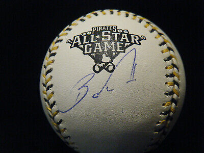 Barry Zito autographed 2006 All Star Game As Pirates baseball