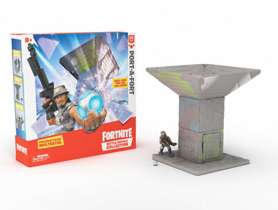 Fortnite Battle Royale Collection Port-A-Fort Playset - Infiltrator Figure