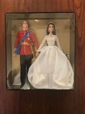 Barbie  Prince William And Kate Middleton Royal Wedding Dolls  Exclusive  New