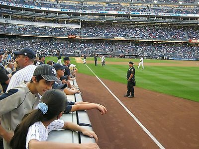 2 - Front Row Field Level Section 109 New York Yankees Tickets v CUBS 62720