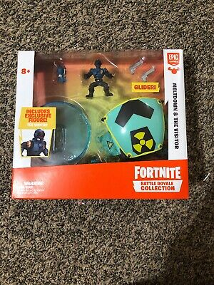 Fortnite Battle Royale Collection Meltdown - The Visitor Figure and Glider