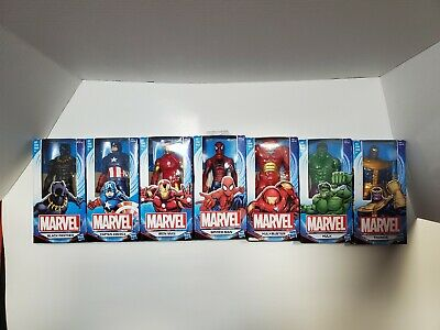 Marvel Avengers 6 Action Figures  NEW  FREE SHIPPING