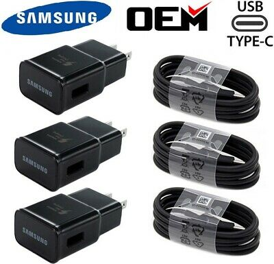 Original Samsung Galaxy S8 S9 S10- Note9 10 OEM Adaptive Fast Rapid Wall Charger