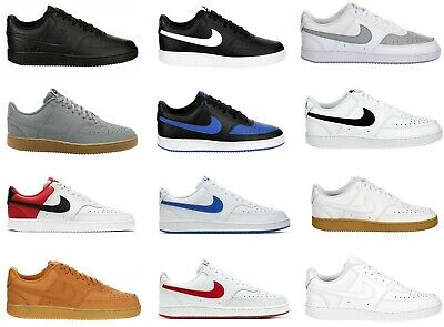 Nike Court Vision Low Top Mens Shoes Sneakers Trainers