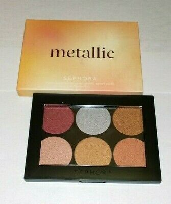 Sephora Metallic Pigment Eye and Face Palette - New in Box